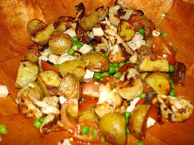 Indisk inspireret kartoffelsalat